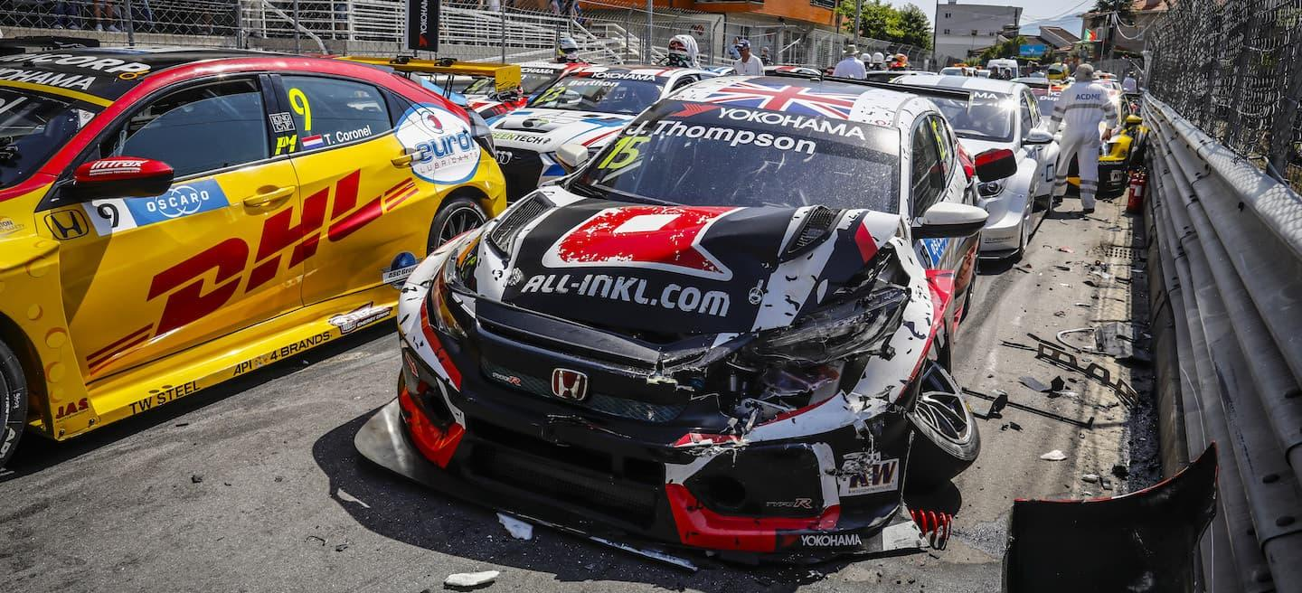 Accidente Vila Real WTCR 2018
