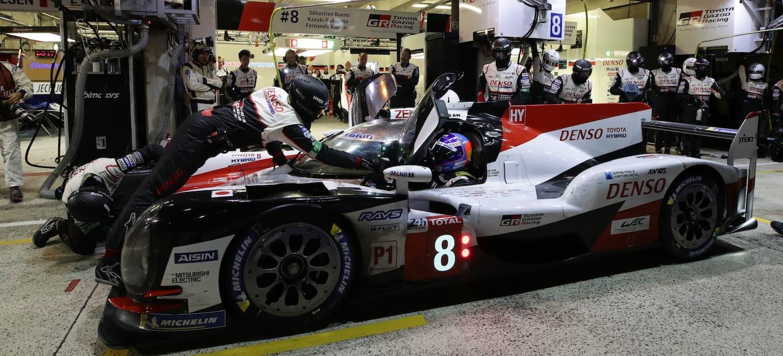 Toyota victoria Le Mans 2018
