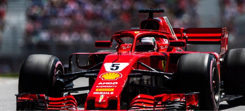 Vettel pole Canadá 2018