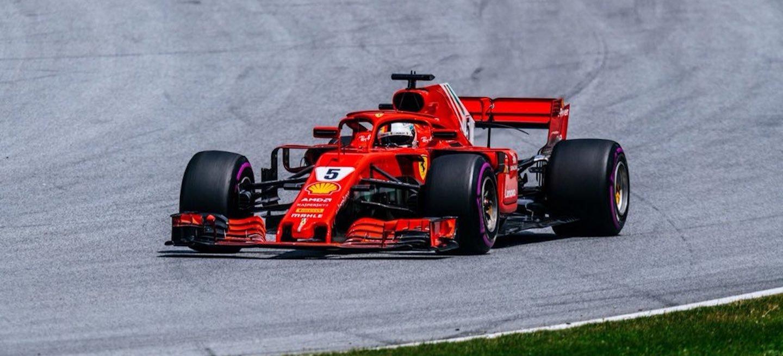 Vettel qualy Austria 2018