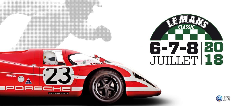 Cartel Le Mans 2018