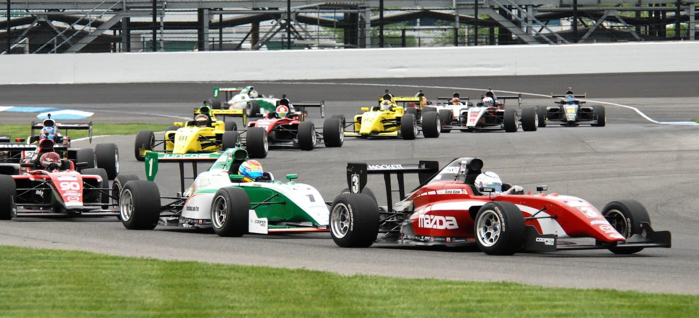 Mazda Road to Indy fin 2018