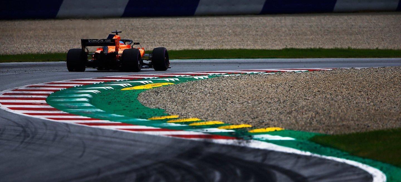 McLaren F1 Austria general 2018