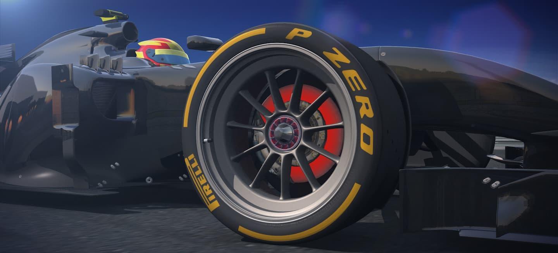 Pirelli render 18 pulgadas