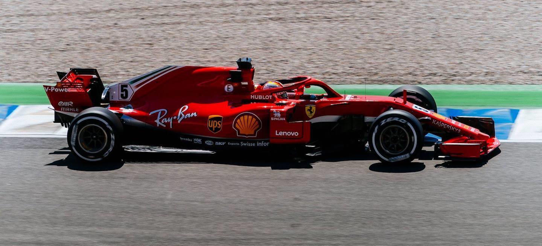Vettel pole Alemania 2018