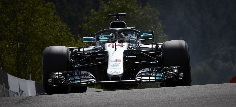 Hamilton Spa pole 2018