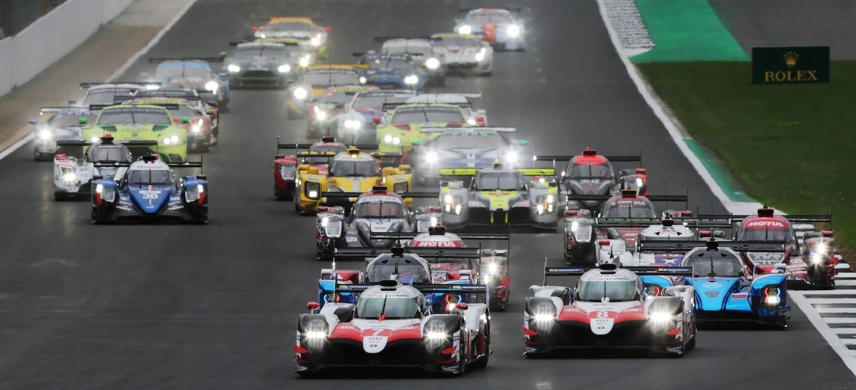 Toyota salida Silverstone 2018