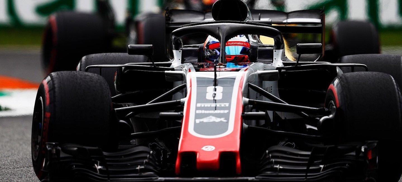 Grosjean Haas DSQ Italia 2018