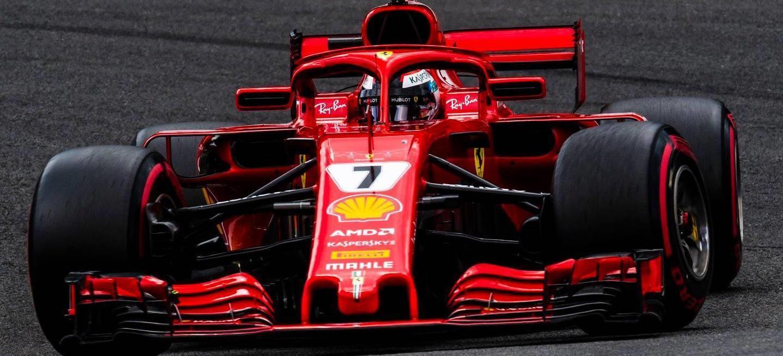 Kimi pole Italia 2018