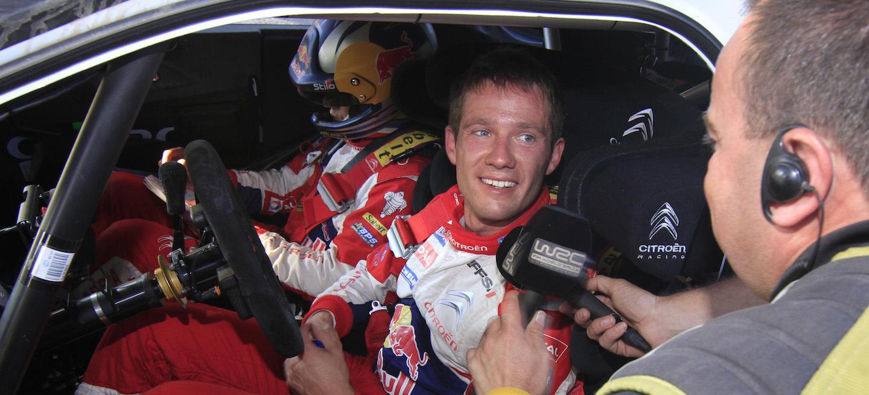 Ogier WRC 2011 Citroen regreso