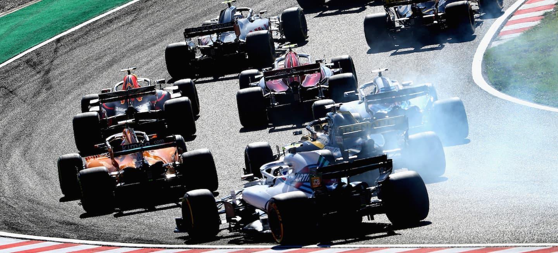 F1 salida Japón 2018