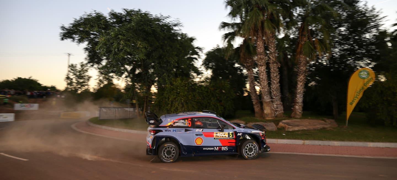 Neuville shakedown Catalunya 2018