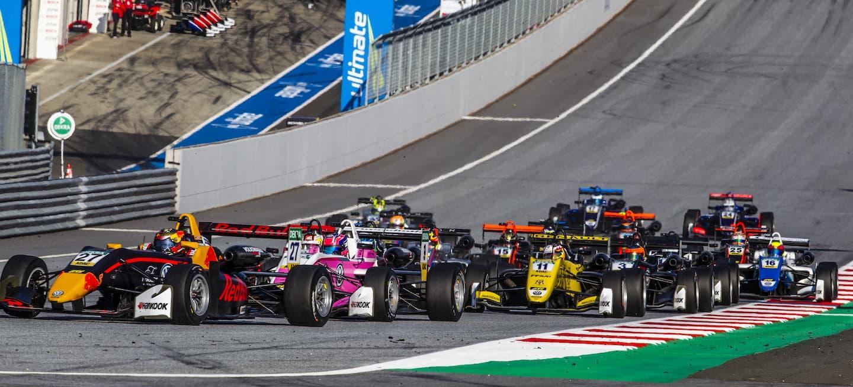 Parrilla F3 RBR 2018