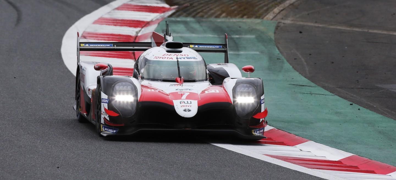 Toyota pole Fuji 2018