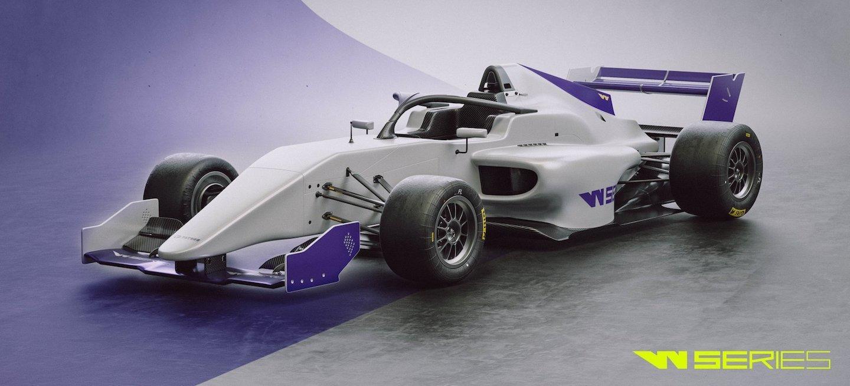 W Series coche 2018