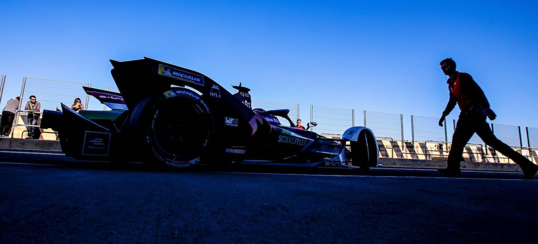 Audi FE test Valencia 2018