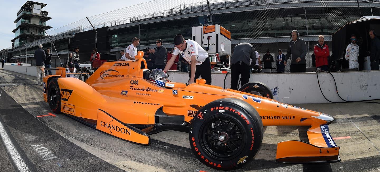 McLaren test Indy 2018