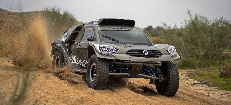 SsangYong Rexton DKR Dakar test