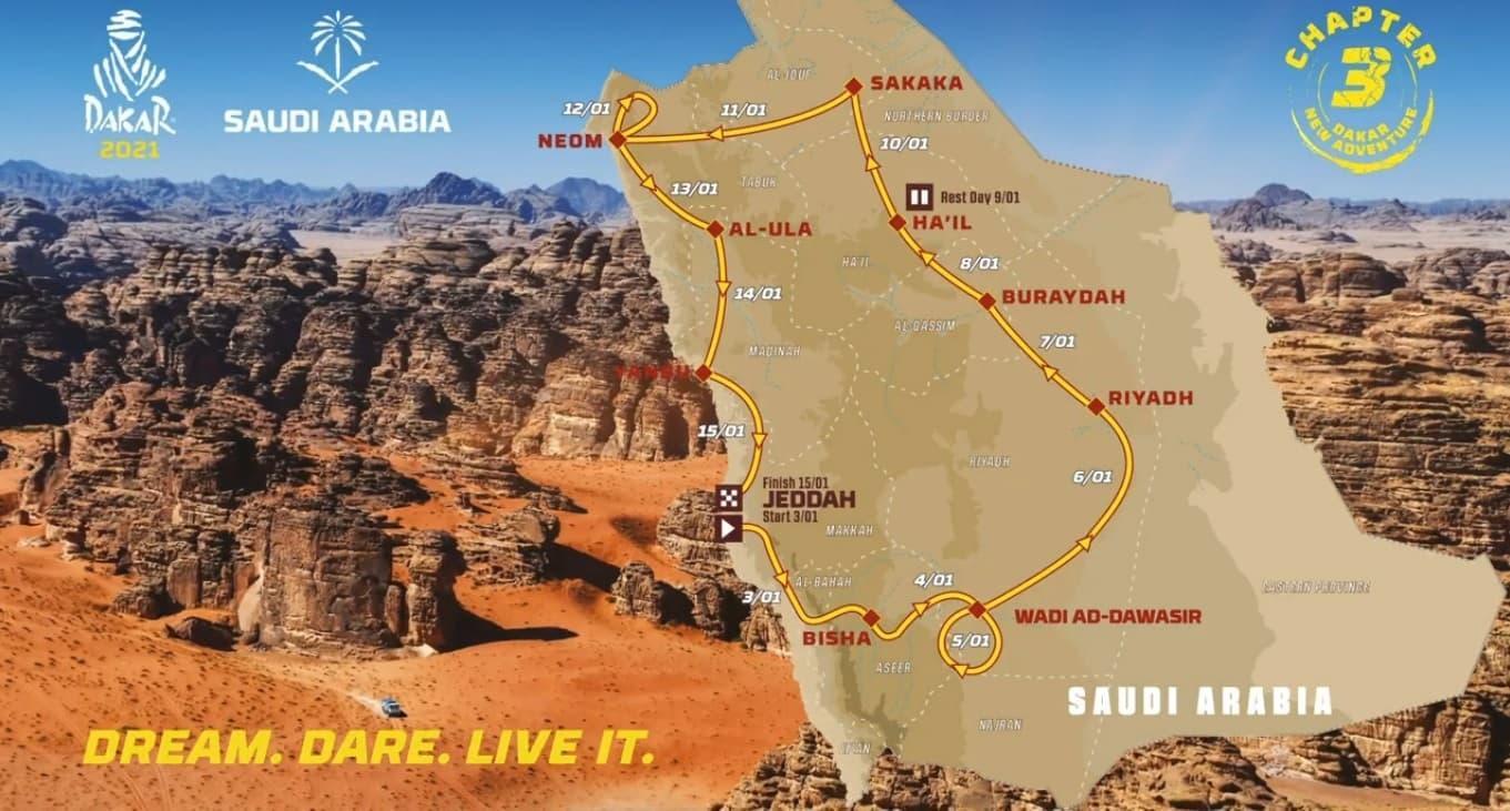 dakar-2021-recorrido
