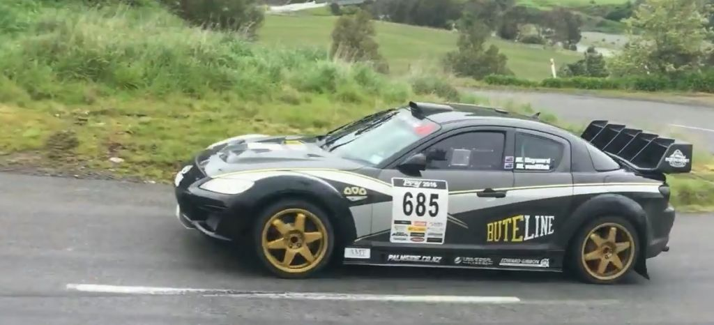 En Competición: Incondicionales del Wankel, este es el RX8 de rallyes más rabioso que veréis