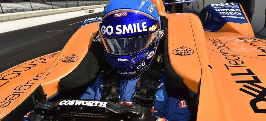 En Competición: Fernando Alonso ya sabe lo que es accidentarse en Indianápolis