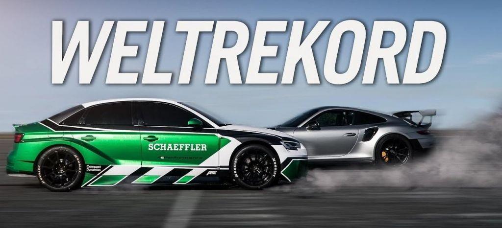 En Competición: Divertido, eléctrico y capaz de ganar a un Porsche 911 GT2 RS acelerando marcha atrás. Así de bruto es el 4ePerformance de Schaeffler