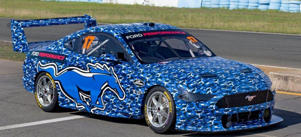 En Competición: De carne y hueso: el Ford Mustang del campeonato Supercars se descubre sobre el asfalto