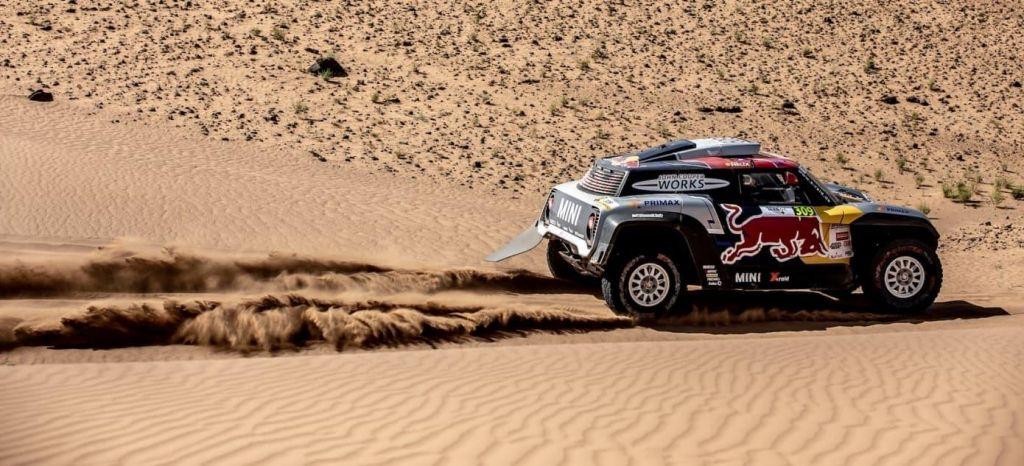 En Competición: Cyril Despres y Carlos Sainz, cara y cruz para MINI en la penúltima etapa del Rally de Marruecos