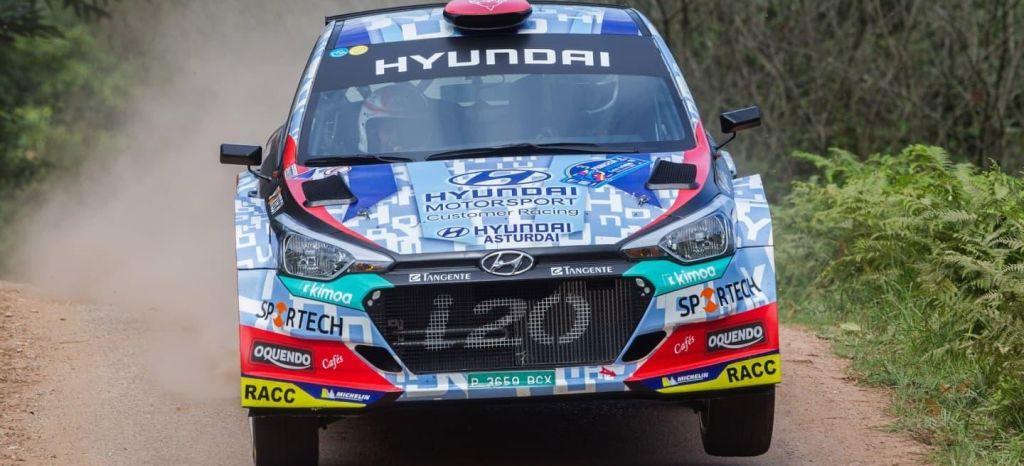 En Competición: Cohete Suárez se pone el traje de 'Don Pelayo' y vence en el Rallye Princesa de Asturias
