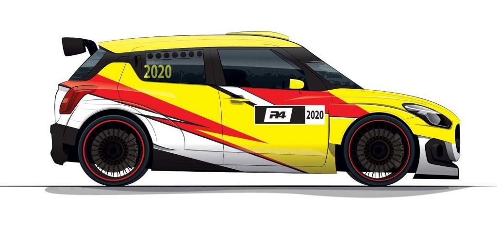 En Competición: Suzuki se desmarca de la categoría N5 y prepara un Swift R4 para competir en 2020
