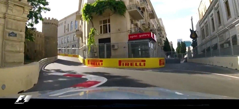 Circuito Urbano De Baku : F circuito urbano de baku youtube