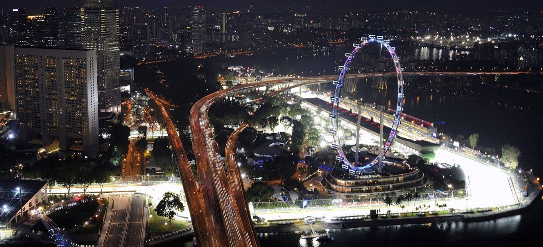 Circuito Singapur : Previo del gran premio de singapur: un desafío a altas horas de la