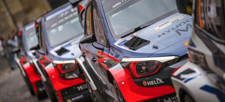 Resultado de imagen para Hyundai Motorsport rally 2017