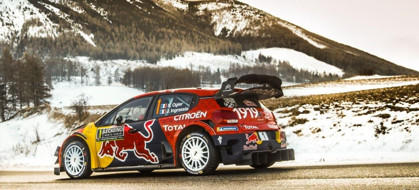 rallye monte carlo 2019 s bastien ogier se sobrepone a los problemas para ganar por sexta vez. Black Bedroom Furniture Sets. Home Design Ideas