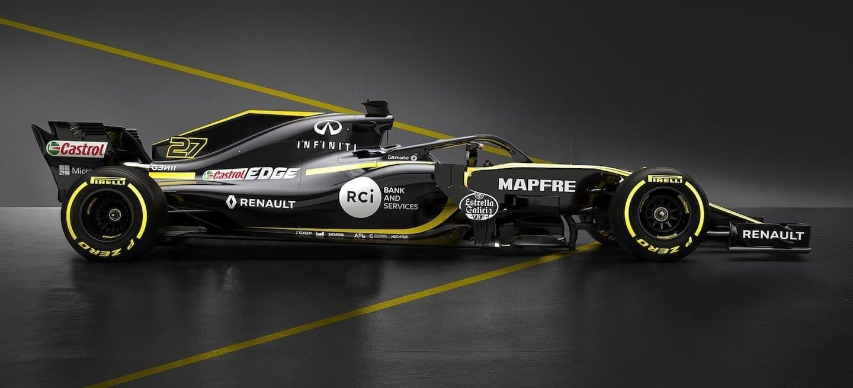 Renault desvela el R.S. 18 de Carlos Sainz y Nico Hülkenberg ...