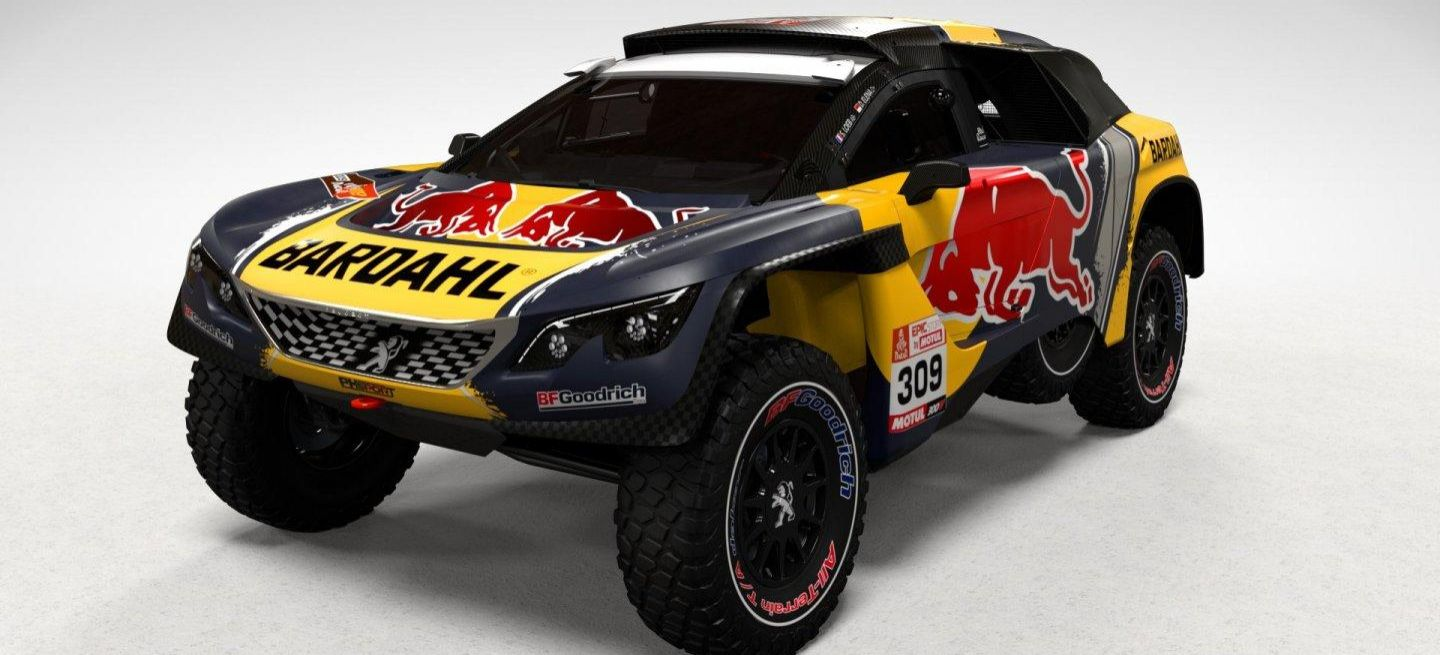 s bastien loeb presenta su decoraci n para el peugeot 3008 dkr y explica c mo surgi la idea de. Black Bedroom Furniture Sets. Home Design Ideas
