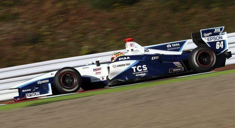 Álex Palou Super Fórmula Test Suzuka 2017 Post Dia 1
