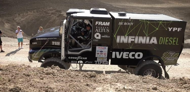 Equipo Infinia Diesel_ EL EQUIPO para el Dakar 2018