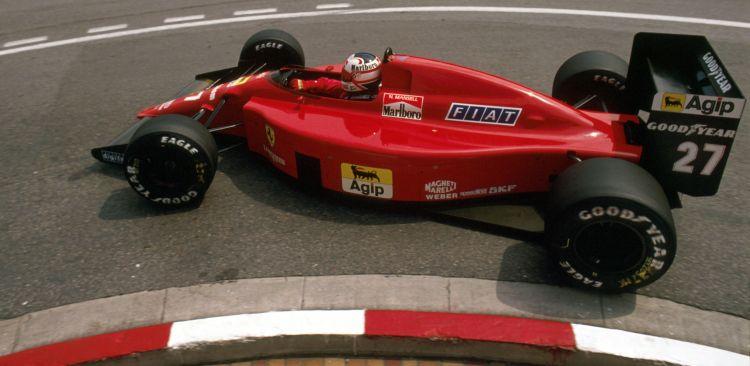 Ferrari 640 GP Mónaco 1989