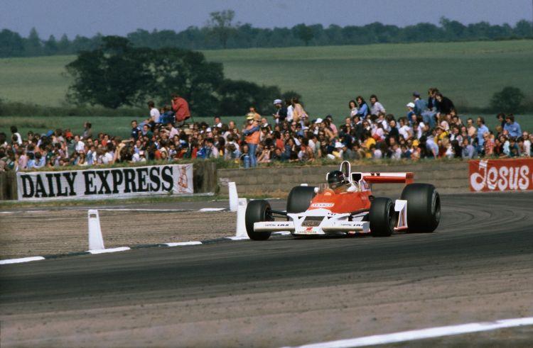 James Hunt GP Gran Bretaña 1977