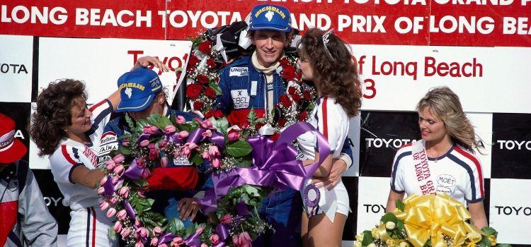 John Watson y Niki Lauda, Podio GP EE.UU Oeste 1983