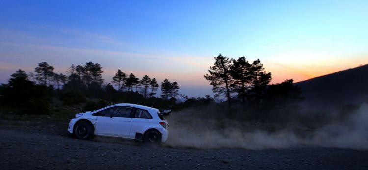TMG Yaris WRC Test