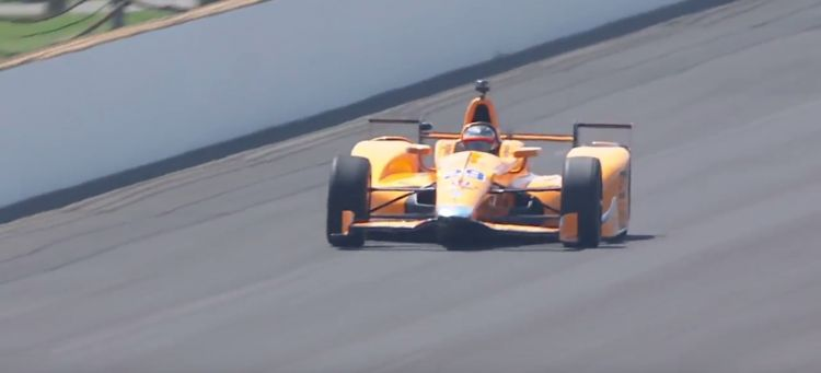 Alonso test Indy 2017