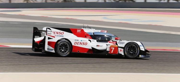 Test Toyota TS050 7 Bahrein 2017