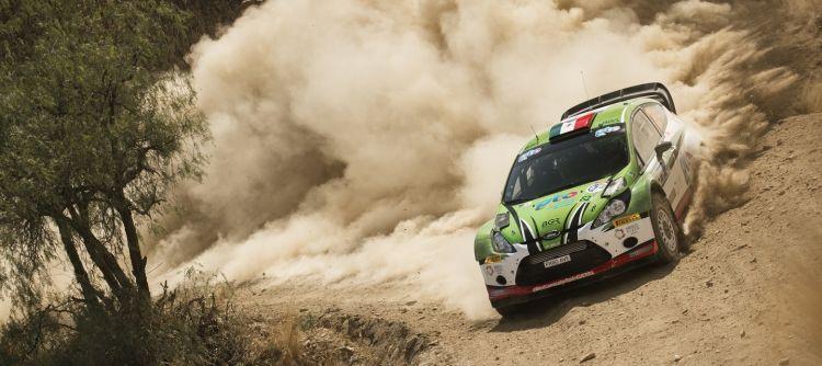 Benito Guerra Jr. Campeonato Mundial de PWRC (WRC 2)