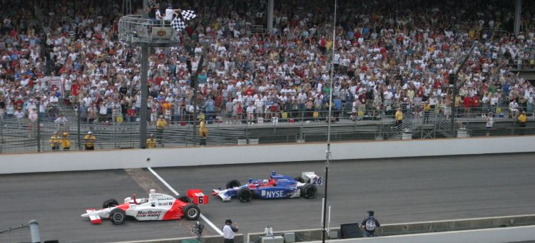 Hornish Indy 2006