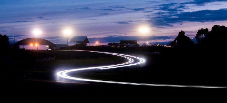 Le Mans noche