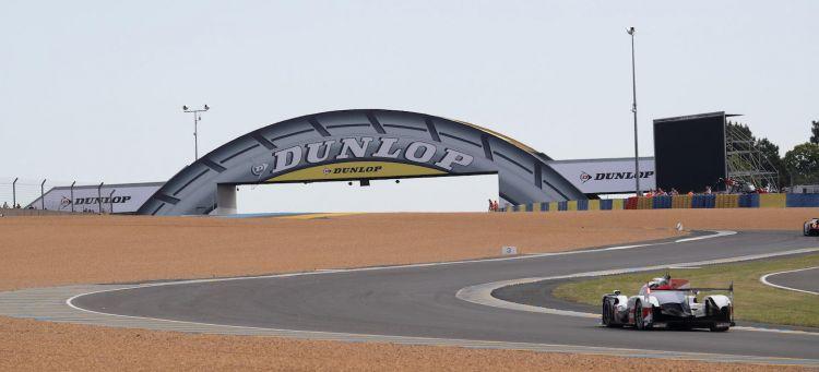 Le Mans puente Dunlop 2018