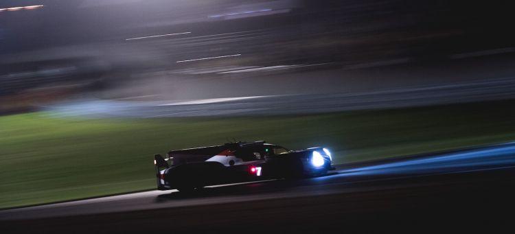Toyota Le Mans noche 2018