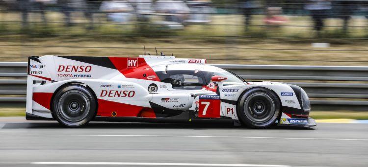 Toyota test Le Mans 2017